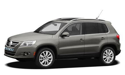 VW Tiguan 4X4 (or similar)