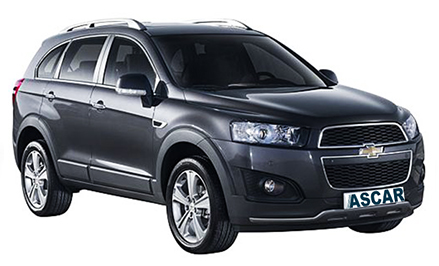 Chevy Captiva (or similar)