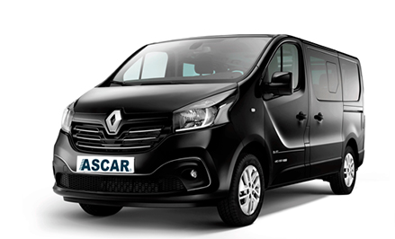 Renault Trafic (8+1) or similar
