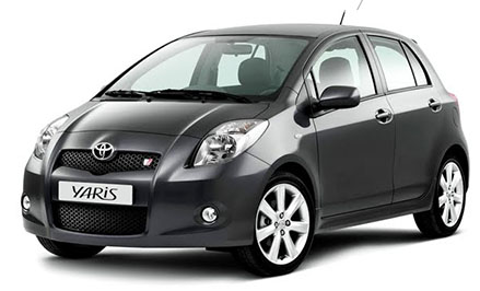 Toyota Yaris (or similar)