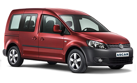 VW Caddy 7 seats (or similar)